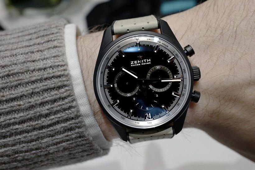 überprüfen Replik Uhren Zenith El Primero Range Rover Special Edition Von https://www.ichuhren.com/!