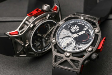 Baselworld 2017 Replik Uhren Hublot Ferrari Tourbillon Chronograph