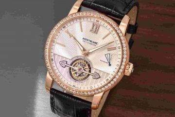 Replik Uhren Montblanc 4810 ExoTourbillon Slim Aventurine Und Dual Time