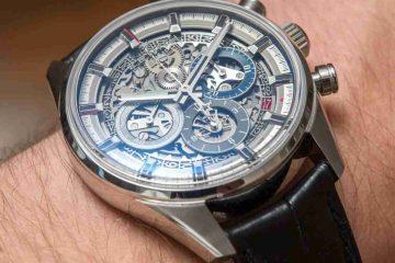 Replica Uhren Zenith Chronomaster El Primero Full Open 38.00 Überprüfung