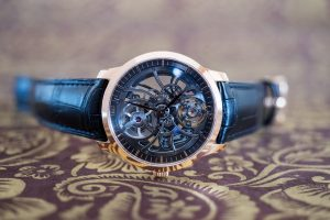 Replik Uhren Girard-Perregaux Laureato Skeleton Ceramic U.S. Edition