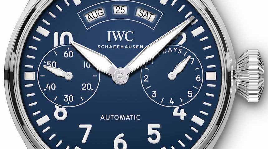 Replica Uhren IWC Pilot's 150th Anniversary Automatik Chronograph Big Date Edition