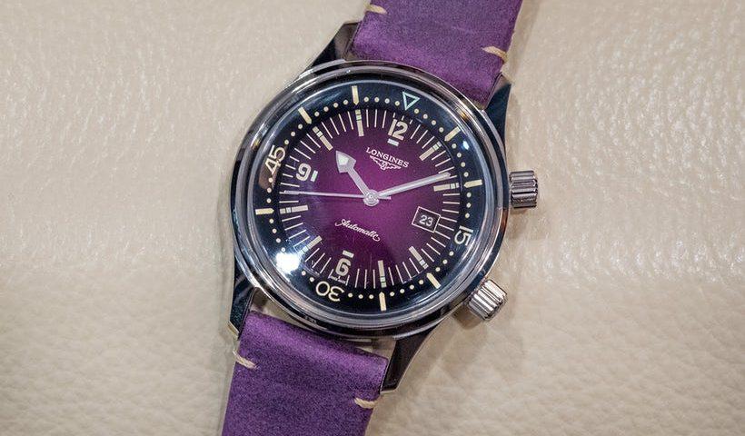 Replica Uhren Longines Legend Taucher Black Dial 36mm Damen