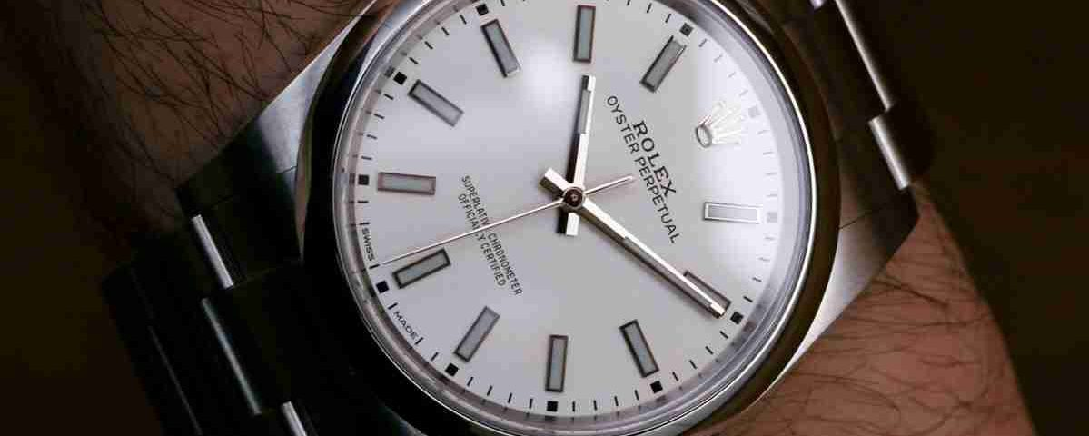 Baselworld 2018 Replica Uhren Rolex Oyster Perpetual 39 Schwarz oder Weiß Zifferblatt 114300