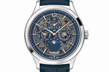 Replica Uhren Montblanc Heritage Chronométrie Perpetual Calendar Saphir klassische Komplikation 40mm 118513