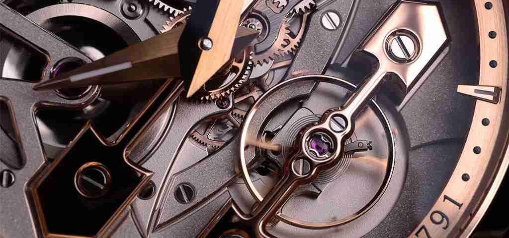 Replica Uhren Girard-Perregaux Klassische Brücken Tourbillon Gold Standard 45mm