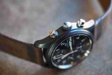 2018 Moderner Klassiker Replica Uhren IWC Keramik Fliegerchronograph Ref. 3705 Rezension
