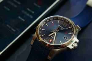 2018 Replica Uhren Longines Conquest V.H.P. GMT Quarz Flash Einstell