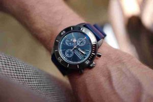 Replica Uhren Breitling Superocean Héritage II Chronographen Chronometer Blaues Zifferblatt Für Erntedank