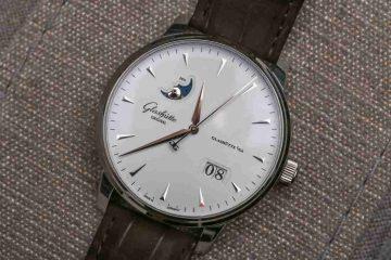 Replica Uhren Glashütte Original Senator Excellence Automatik Panorama Datum Mondphase Edelstahl 42mm