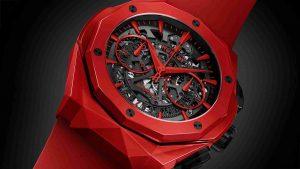 2019 Replica Uhren Hublot Classic Fusion Chronograph Automatische Orlinski Keramik Rot 45mm Limitierte Auflage