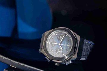 SIHH 2019 Replica Uhren Girard-Perregaux Laureato Absolute Chronographen Titan 44mm 81060-21-491-FH6A