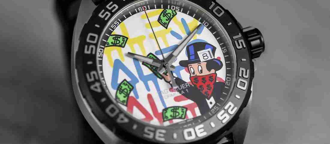 SIHH 2019 Replica Uhren TAG Heuer Carrera & Formula 1 Alec Monopoly Sonderausgabe Zum Carnival