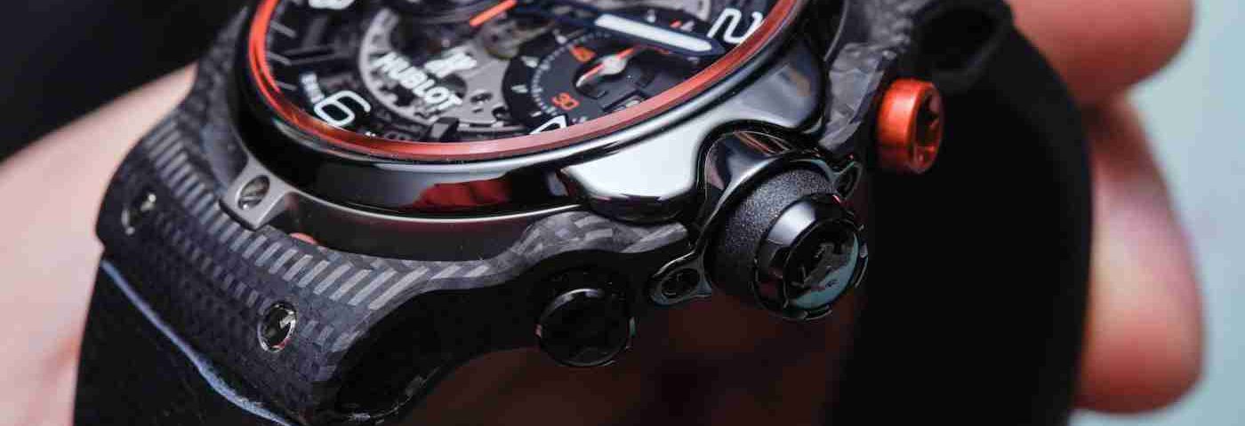 Replica Uhren Hublot Classic Fusion Ferrari GT Automatik Chronographen