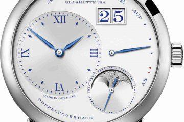 Replica Uhren A. Lange & Söhne Little Lange 1 Mondphase 25-jährige Jubiläums