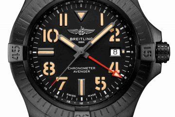 Die Replica Uhren Breitling Avenger Automatisch Nachteinsatz GMT 45