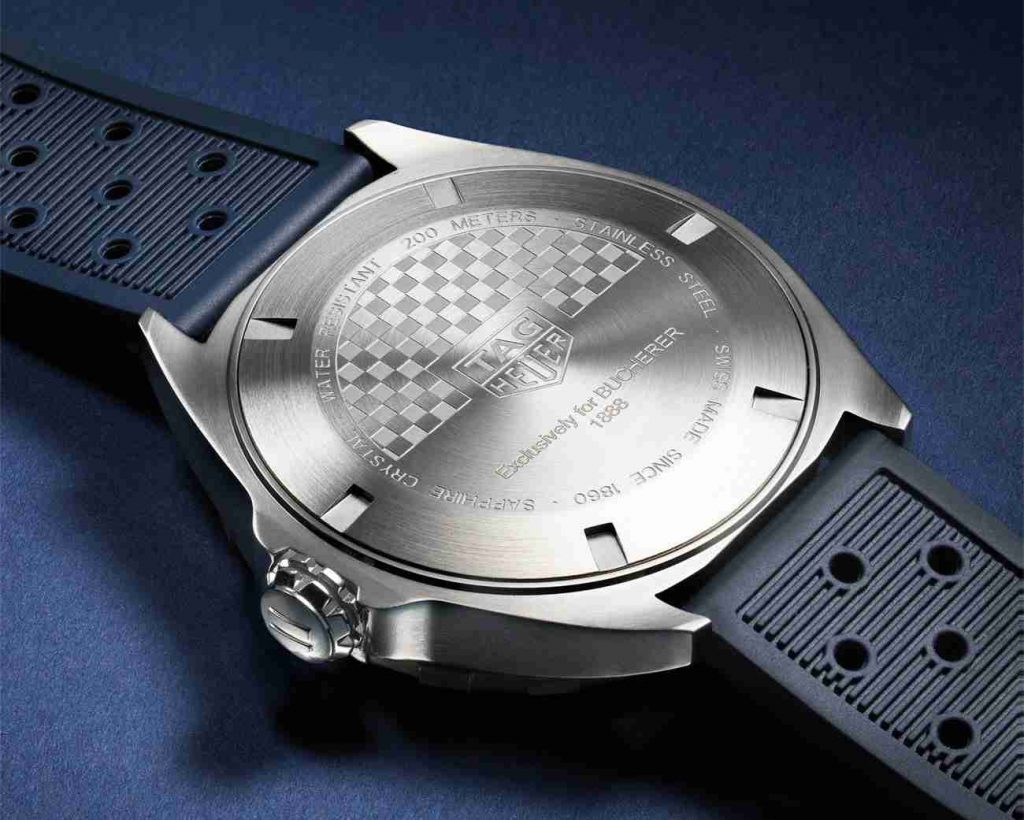 Beste Sonderausgabe Replica Uhren TAG Heuer Formel 1 Bucherer Blue Calibre 5