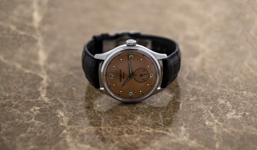Schweizer Replik Uhren Montblanc Heritage Kleine Sekunde Limited Edition 38 Einführung