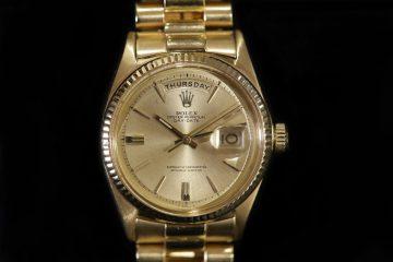 Diskussion der 18 Karat Gold Replica Uhren Rolex Day-Date 36 Oyster Perpetual