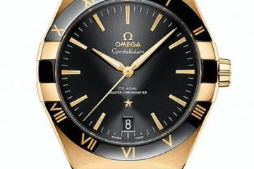 Replica Uhren Omega Constellation Master Chronometer Kaliber 8900 Stahl und Gold 41mm
