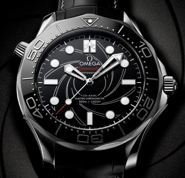 Replik Uhren Omega Seamaster Diver 300M James Bond 007 Nummerierte Ausgabe Platin Gold 42mm Bewertung
