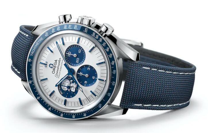 Replica Uhren Omega Speedmaster Silber Snoopy Award 50. Jahrestag Chronographen Einkaufsführer 3