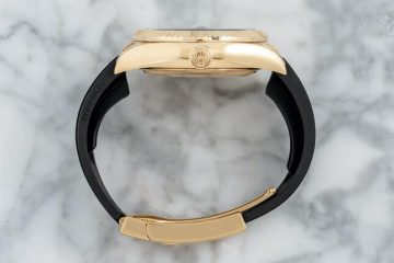 Replica Uhren Rolex Sky-Dweller Oysterflex Jahreskalender 18 Karat Gelbgold 42mm 3
