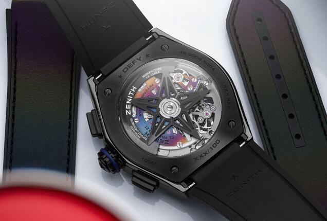 Replik Uhren Zenith Defy 21 Automatische Felipe Pantone Chromatische Street Art Bewertung 1