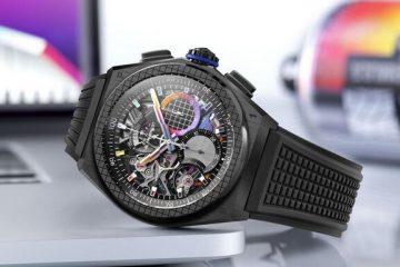 Replik Uhren Zenith Defy 21 Automatische Felipe Pantone Chromatische Street Art Bewertung 3