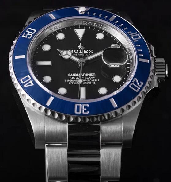 Replik Uhren Rolex Submariner Cerachrom Lünette Weißgold 41mm 126619LB Bewertung 1