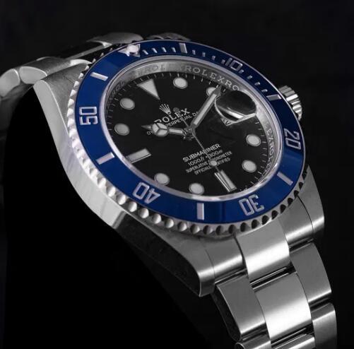 Replik Uhren Rolex Submariner Cerachrom Lünette Weißgold 41mm 126619LB Bewertung 2