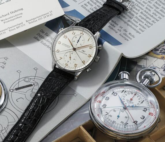 Bewertung Von Replik Uhren IWC Portugieser Split-Seconds Chronographen Prototyp 3712 2