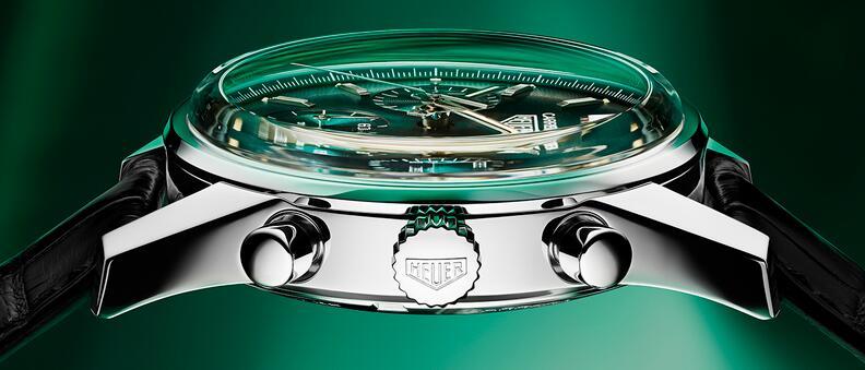 Wir stellen die Replika Uhren TAG Heuer Carrera Heuer 02 Grüner Stahl 39mm Limitierte Auflage 1