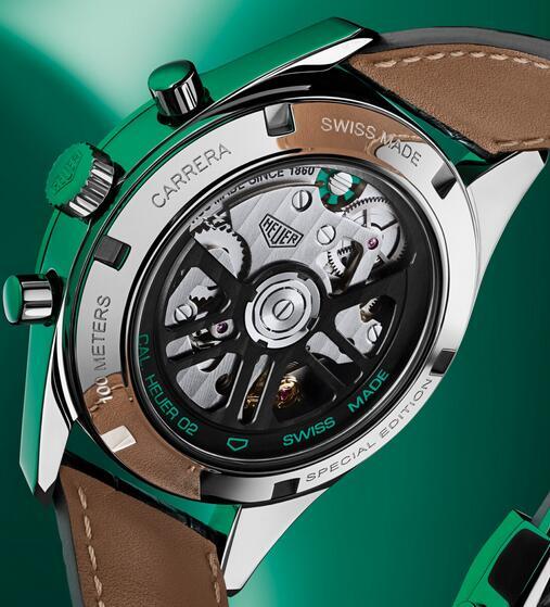 Wir stellen die Replika Uhren TAG Heuer Carrera Heuer 02 Grüner Stahl 39mm Limitierte Auflage 2