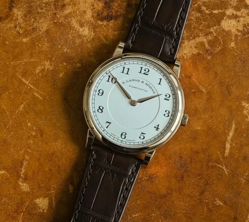 Wir stellen von Replika Uhren A. Lange & Söhne 1815 Thin 18k Honeygold 38mm 239.050 1