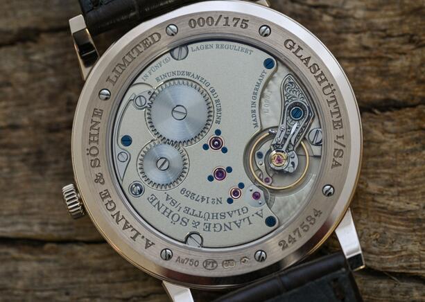 Wir stellen von Replika Uhren A. Lange & Söhne 1815 Thin 18k Honeygold 38mm 239.050 3