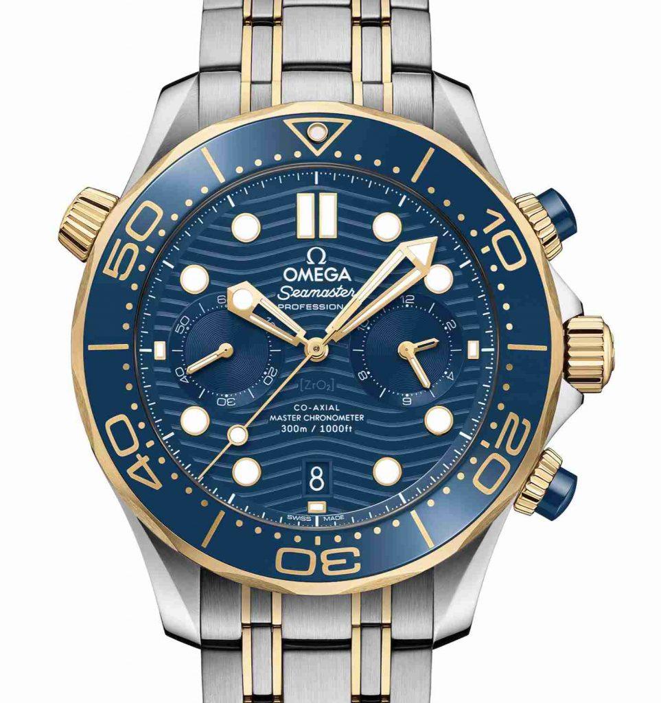 Vorstellung der Replika Uhren Omega Seamaster Professional Diver 300M Chronographen 44mm 2