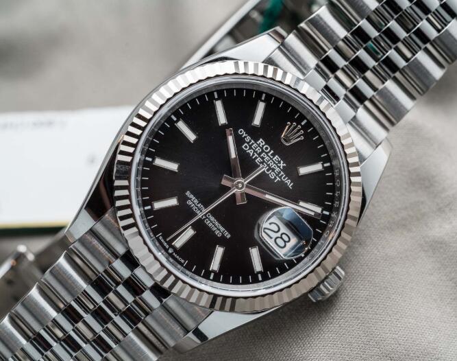 Einführung der Replika Uhren Rolex Datejust Oyster Perpetual Edelstahl 1