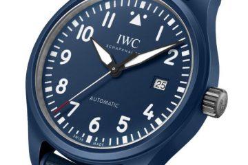 Bewertung von Replik IWC Fliegeruhr Automatik Blaue Ausgabe Laureus Sport für gute 41mm 2
